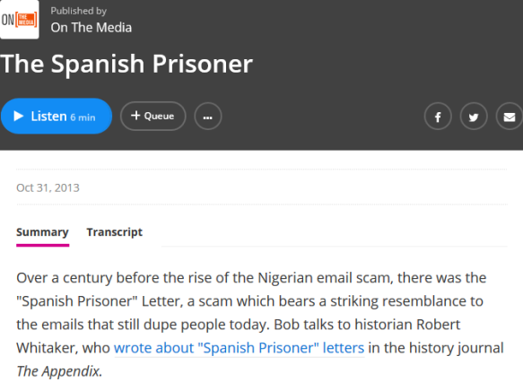 Screenshot_2018-09-21 The Spanish Prisoner On The Media WNYC